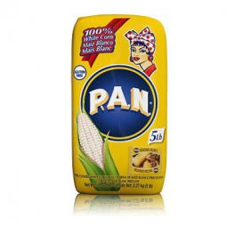P.A.N. White Corn Meal - 5 Lbs