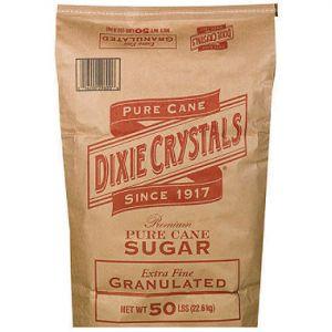 Dixie Crystal Sugar 50 LB