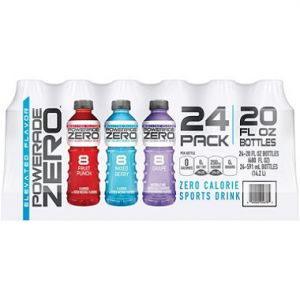 Powerade Zero Sports Drink 20 oz - 24 Pack