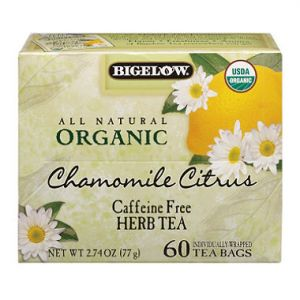Organic Bigelow 60CT Chamomile Tea