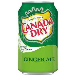 Canada Dry Ginger Ale 12oz - 24 Pack