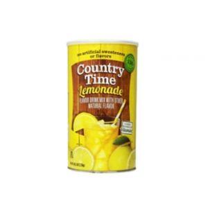 Country Time Lemonade Mix 34 QT