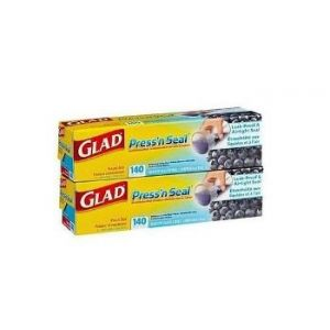 Glad Press'n Seal 140 SQ FT 2 Pack
