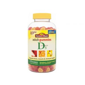 Nature Made Vit D Gummies 275 CT