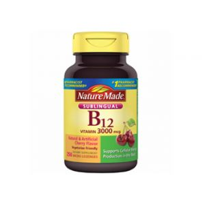 Nature Made B12 3000 MCG 250 CT