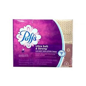 Puffs Plus Lotion Cube 2Ply 12PK 56CT