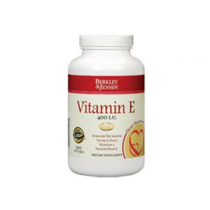 Berkley & Jensen Vitamin E 400 IU 500 CT Soft Gels