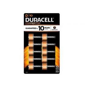 Duracell Quantum Alkaline D 10PK