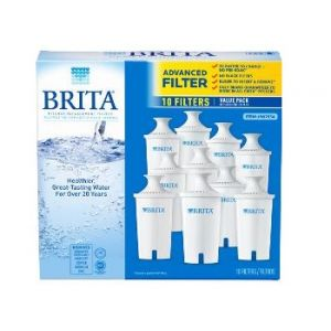 Brita 10-Pack Pitcher Water Filters