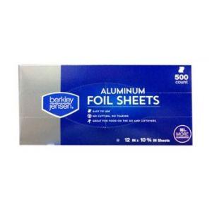 Berkley & Jensen Aluminum Foil Seets 500 Count
