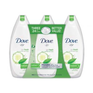 Dove Go Fresh Cool Moisture Body Wash 24 oz - 3 Pack
