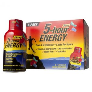 5 Hour Energy Berry No sugar Crash 1.93 OZ - 24 Pack
