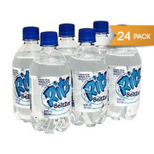 Ritz Original Plain Seltzer 16 Ounce - 24 Pack