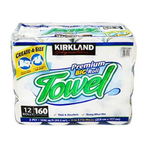 Kirkland Signature Create-A-Size Paper Towels - 12 Pack