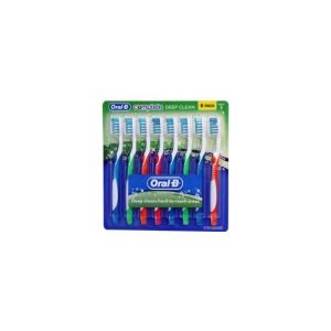 Oral-B Complete Deep Clean Soft Toothbrush - 8 Pack