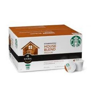 Starbucks House Blend Keurig (K-Cups) - 54 Pack