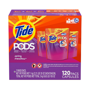 Tide. Pods Laundry Detergent 120 CT