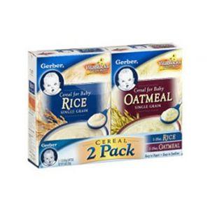 Gerber Rice & Oatmeal 2-Pack