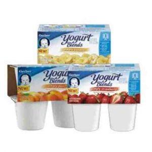 Gerber Graduates Yogurt Blends 12ct - 3.5oz Cups