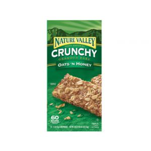 Nature Valley Oats & Honey Natural - 98 Pack
