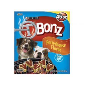 Nestle Purina T-bonz Dog Treats 45 oz.