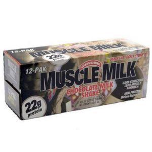 Muscle Milk Rtd Chocolate 12 / 11 oz