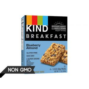 Kind Healthy Grains Blueberry Almond Breakfast Bars 4CT
