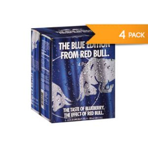 Red Bull Blue Edition 8,4 OZ 4 PK