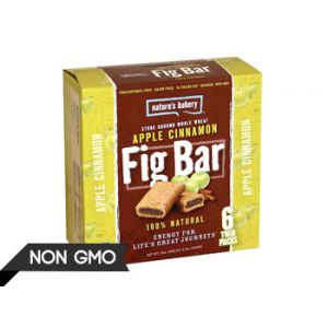 Nature's Bakery Apple Cinnamon Fig Bar - 6 ct