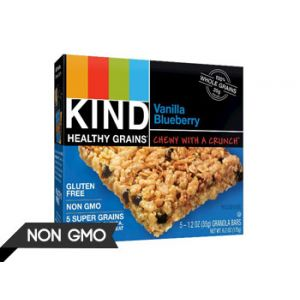 Kind Vanilla Blueberry Gluten Free Granola Bars - 5 Count