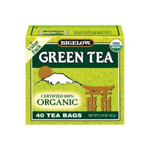 Bigelow Organic Green Tea Value Pack 40 ct