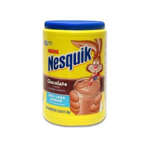 Nestle Nesquik Chocolate 48.7z 25% Less Sugar