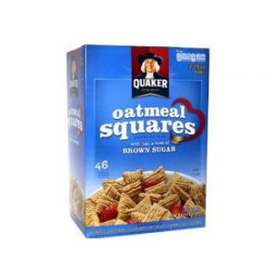 Quaker Oatmeal Squares Value Pack - 58oz