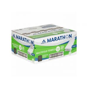 Marathon Multifold Towels 2-Ply 150 Sheet / 20 Pack.