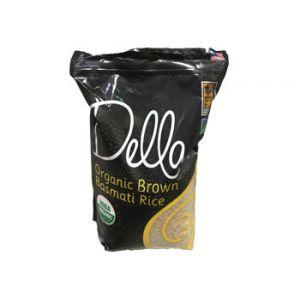 Della Organic Brown Basmati Rice 10 LB.