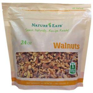 Nature's Eats Organic Walnuts 32 OZ