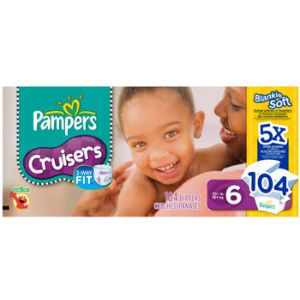 Pampers Crusier Diapers Size 6 92 Count