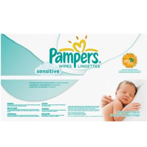 Pampers Sensitive Baby Wipes 744 Ct
