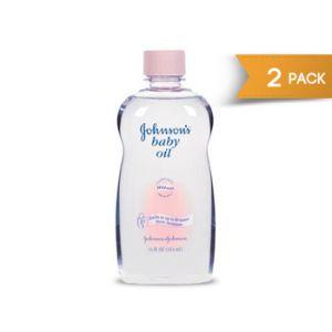 2-Pack Johnson's Baby Oil 20 oz.