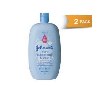 2-Pack Johnson's Bubble Bath 28 oz