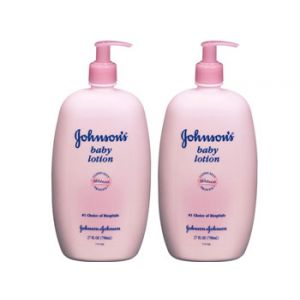 2-Pack Johnson's Baby Lotion 27 oz