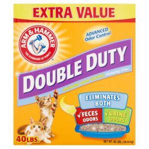 Arm & Hammer Double Duty Cat litter 40 LBS