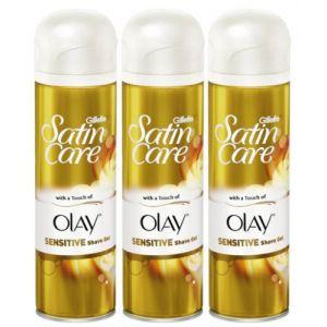 Gillette Satin Care Shave Gel 8.4oz - 3 Pack