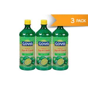 Goya Lemon Juice 32 oz - 3 Pack