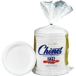 Chinet Paper Lunch Plate 8 3/4 140 Count