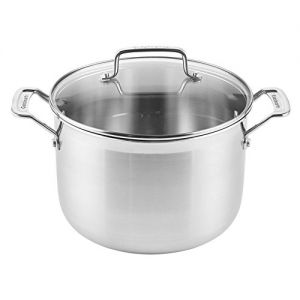 STOCKPOT,8QT(XXL),W/COVER,CHEF
