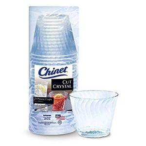 Chinet Cut Crystal Cups 9 oz 100 Count