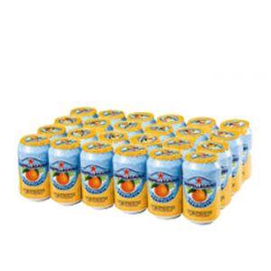 San Pellegrino Sparkling Organge - 11oz Cans  - 24 Pack