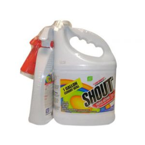 Shout Stain Remover Combo Pack - 1 Gal w/22 oz Spray Bottle