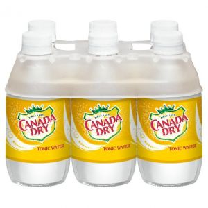 Canada Dry Tonic Water 10 oz Glass Bottles - 24 Pack